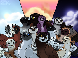 Tyto Squad by TheCheryl