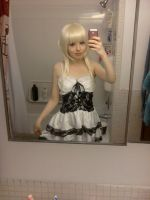 Cosplay progress -- Chii by LittleMissAnesthetic