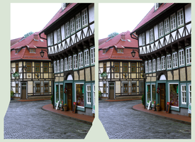 Stolberg im Harz 3D ::: DRi Cross-View Stereoscopy by zour