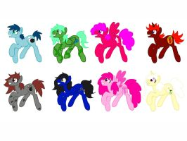 Free Pony Adopts #4 .:SOLD OUT:. by ShinySmeargle