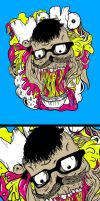 skull need eat by MyTriangle
