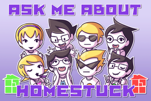 Homestuck Poster by SonicRocksMySocks