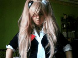 Little WIP of my Junko costume by BlanxMisa