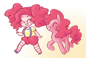 pinkie pie(s) by mayakern