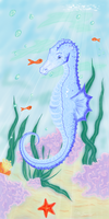 seahorse by zulou