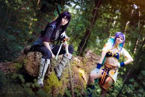 Tales of Vesperia - Yuri Lowell and Judith II by Calssara
