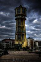 Water Tower in Siofok by cjporter