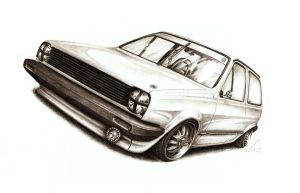 VW Polo Mk2 - Moment of Fame by Medvezh
