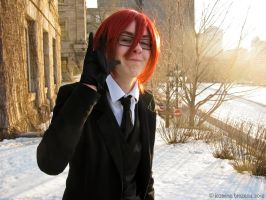 Young Grell: Derp face by Chunfang