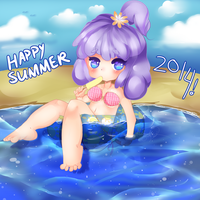 Happy Summer by Hatty-hime