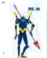 Evangelion Mark 06 by Tom-the-Foxey