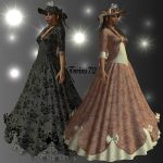 Stock Victorian Lady by Twins72