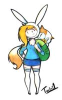 Fionna and Cake by tavini1