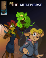 KUWT MultiVerse 002: The Real Ghostbusters by AaronsArtStuff