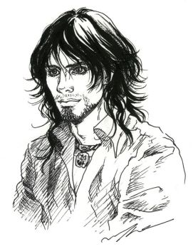 Sirius Black from HP by Maelstromarts