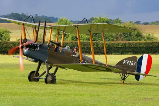 Royal Aircraft Factory B.E.2e (Reproduction) by Daniel-Wales-Images