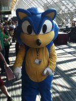 Sonic cosplay by Sinta54