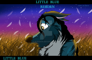 LITTLE  BLUE REBORN by alphakw