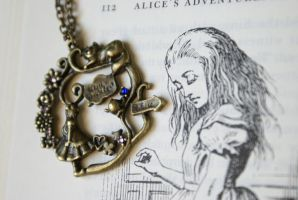 Alice's Adventures Necklace by MonsterBrandCrafts