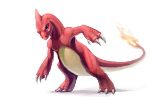 Charmeleon by LhuneArt