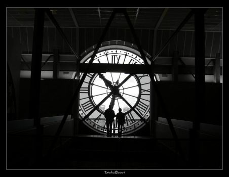 From inside my time BW by Brixta