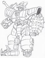 PR G-Force: Mega Zord by Deadpoolrus