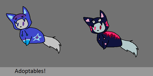 Hoodie Cat Adoptables! (ALL TAKEN) by DalmationCat