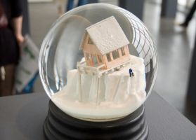 snow globe by Myxomatiss