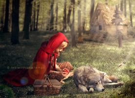 Little Red Riding Hood by nxlam1801