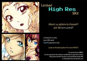 Limited High Res SALE !!! by Ethevian