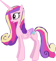Princess Cadence talking by OceanRailroader