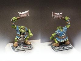 HeroQuest Orc Painted Miniatures by crwrene