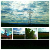Road To East Kilbride -Collage- by IoannisCleary