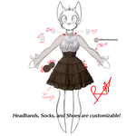 Scarlett Star Day Time Waitresses Outfit (UPDATED) by RoselinaChan