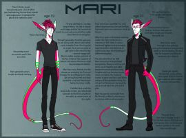 Mari humanoid ref by annicron