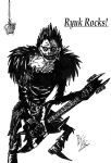 Shinigami Ryuk Rocks XP by AkatsukiFan505