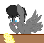 [MLP] Obsessed with Butter by bluefoxycat