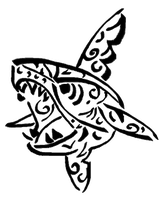Sharpedo tribal -request by Sulfura