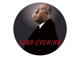 Alfred Hitchcock by grobles63