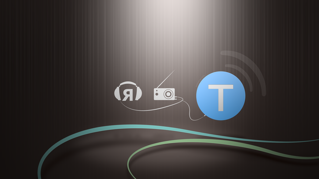 Wallpaper for IT podcast Radio-T by RomeTM