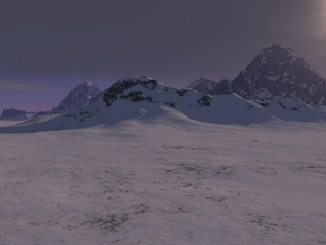 Snowy Mountains by piedude