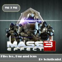 Mass Effect 3 by Solutionist
