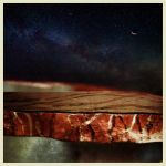 iPhoneography   Moon over Red-Step by Gerald-Bostock