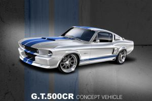 Shelby GT500CR by TheCarloos