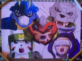 digimon frontier by Tenemur
