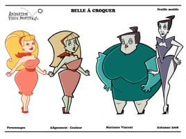 Belle a Croquer - Lineup by minouch
