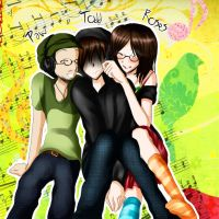 TGWTG- Musical Trio by HimitsuNotebook