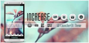 Increase GO LauncherEX Theme by maciej-pl