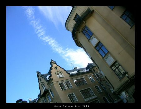 Orebro skies by al5aleej
