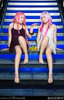 Guilty Crown - The Classic Pose by nutcase23
